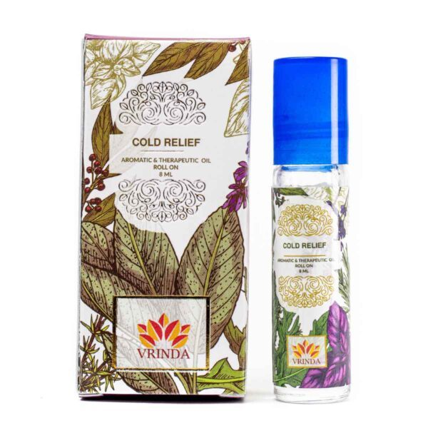 Cold Relief Aroma & Therapeutic Oil Roller Bottle