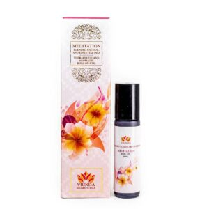 Meditation Aroma & Therapeutic Oil Roller Bottle Gift Pack