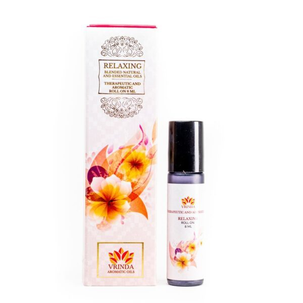 Relaxing Aroma & Therapeutic Oil Roller Bottle Gift Pack