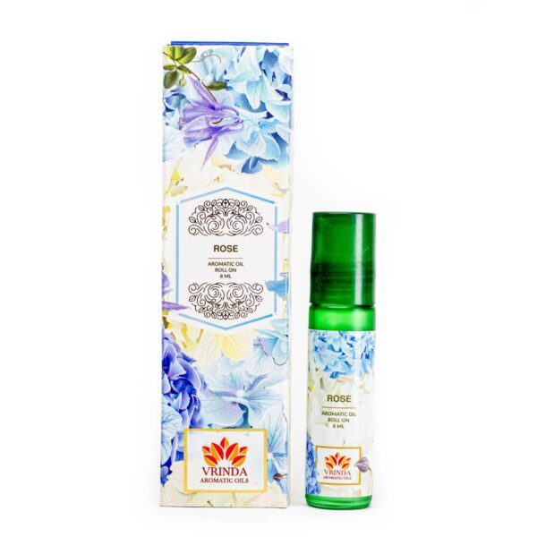 Rose Aromatic Oil Roller Bottle Gift Pack